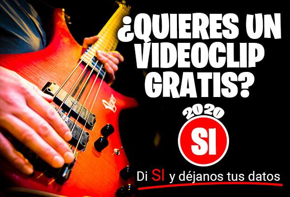¡Tu videoclip GRATIS!